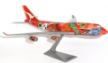 Boeing 747-400 QANTAS Australia Wunala Dreaming Collectors Model Scale 1:250 E